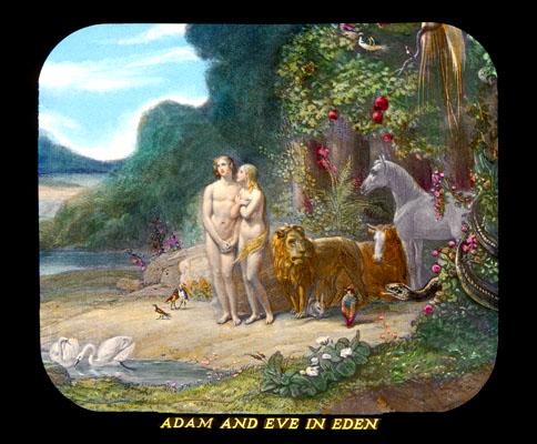 Photo-Drama of Creation, Adam in Eve in Eden