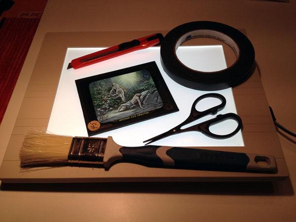 Photo-Drama of Creation slide restoration